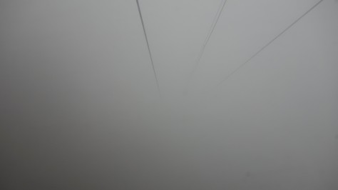 Fog - theres nothing else to see!